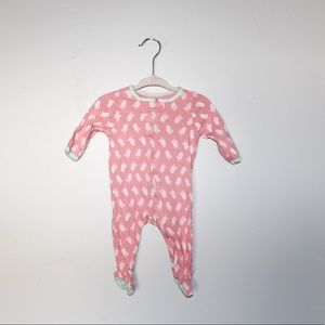 LOT 3 Cat & Jack Footie Pajama Reverse Zip 3 mos